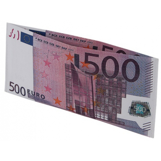 e04e93b9d94 Portemonnee 500 eurobiljet | Fun en Feest Megastore Alkmaar