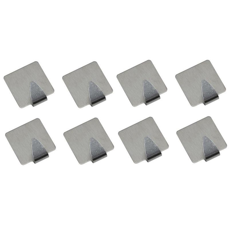 abb80b21cf9a4d 8x Zelfklevende haakjes rechthoekig   Fun en Feest Megastore Alkmaar