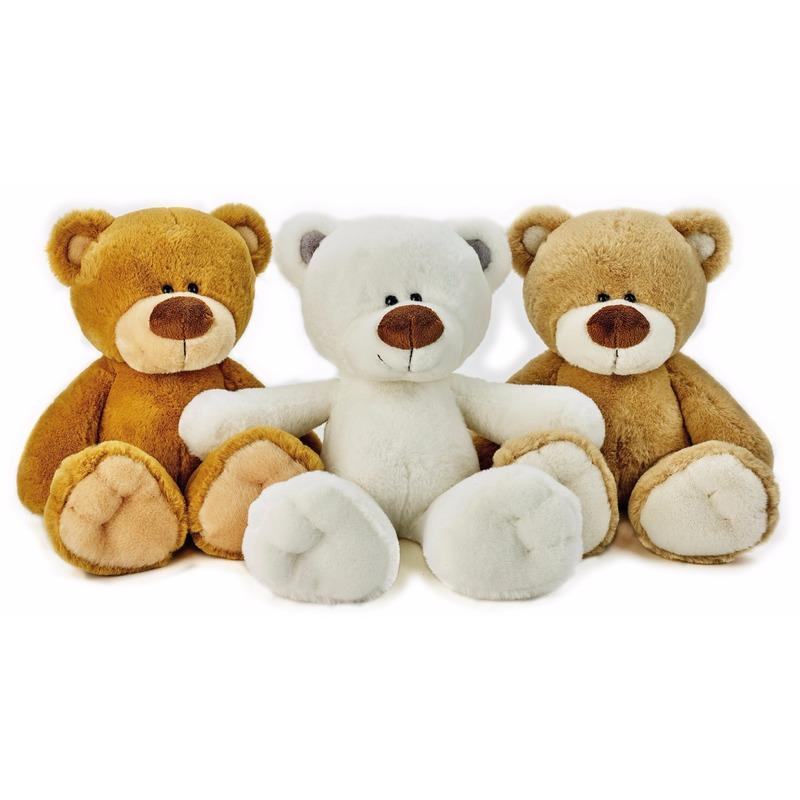 6c71a3890e7440 Pluche witte ijsbeer Bobo knuffel 38 cm | Fun en Feest Megastore Alkmaar