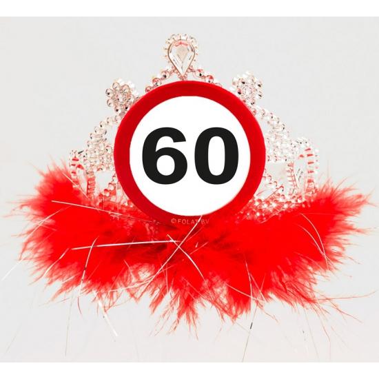Nieuw Leeftijd feestartikelen tiara 60 jaar   Fun en Feest Megastore Alkmaar BW-09