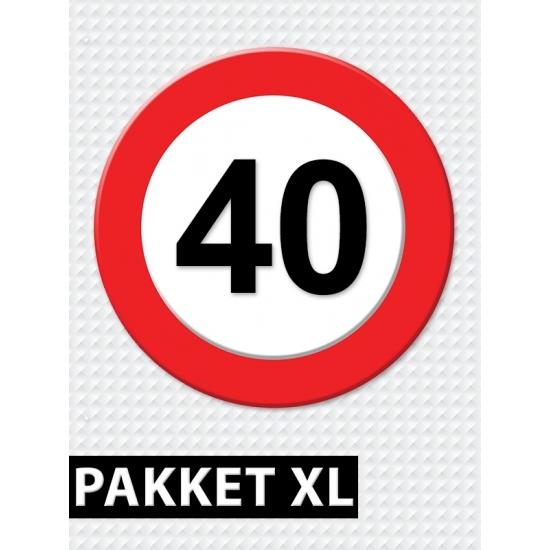 fun artikelen 40 jaar Voordeelbox 40 jaar artikelen XL | Fun en Feest Megastore Alkmaar fun artikelen 40 jaar