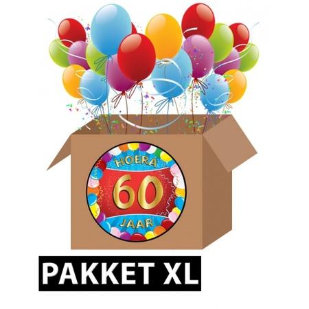 Verbazingwekkend 60 jaar feest versiering voordeelbox XL   Fun en Feest Megastore MJ-92